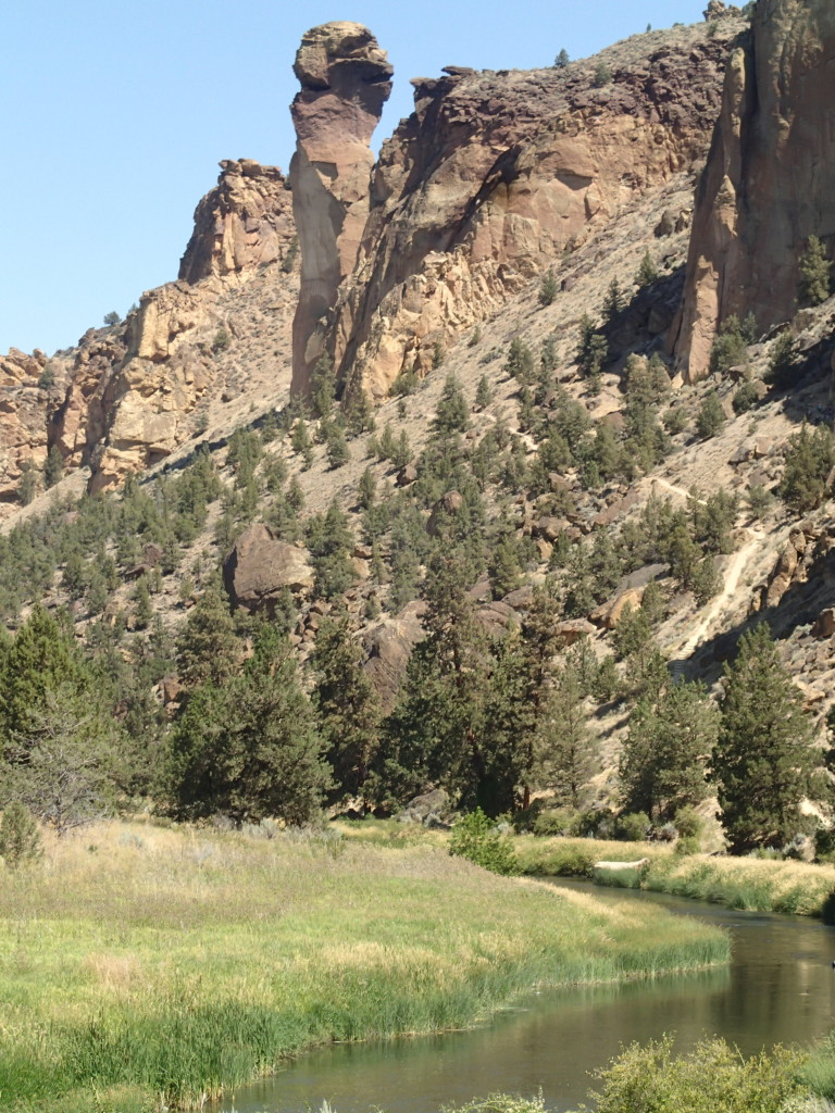 Monkey Rock at Smith Rock State Park