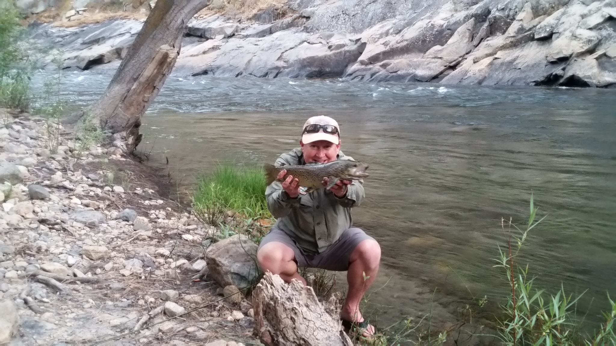 upper kern and little kern river fishing report august