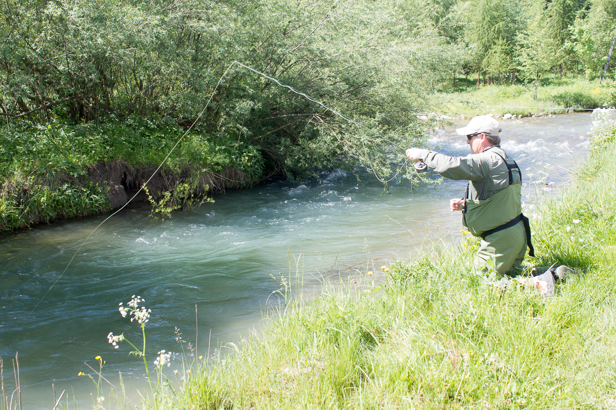 Bialka river poland for Fly fishing blog
